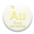 Periodic Table Au Gold