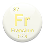 Periodic Table Fr Francium