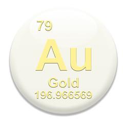 Periodic Table Au Gold