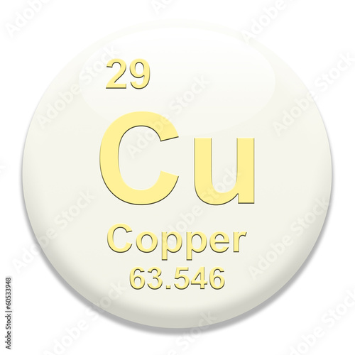 Periodic Table Cu Copper