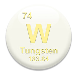 Periodic Table W Tungsten