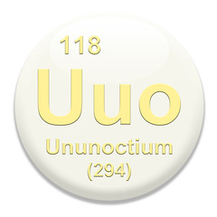 Periodic Table Uuo Ununoctium