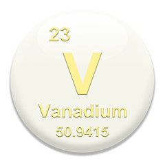 Periodic Table V Vanadium