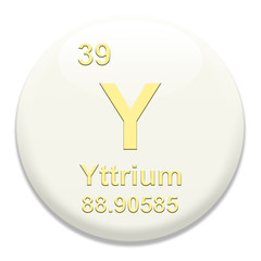 Periodic Table Y Yttrium