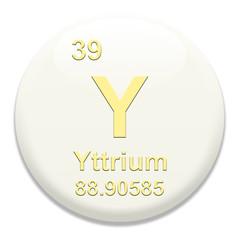 Periodic Table Y Yttrium