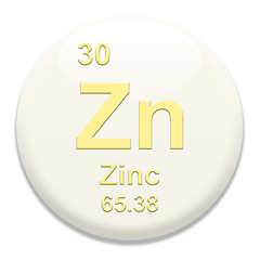 Periodic Table Zn Zinc