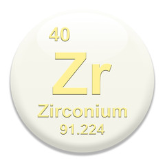 Periodic Table Zr Zirconium