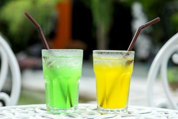 juice in garden