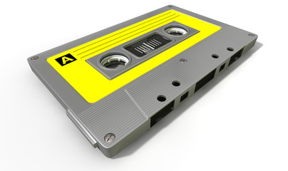 Grey Audio Cassette Tape