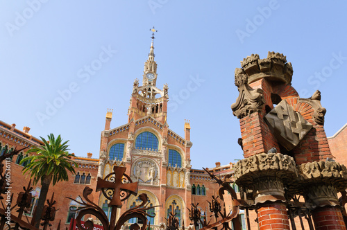 Hospital de Sant Pau in Barcelona, Spain