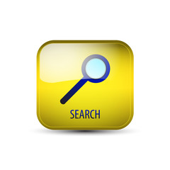 Web icon, button with search