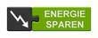 Puzzle-Button grau grün: Energie sparen