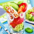 Mozzarella - Salat