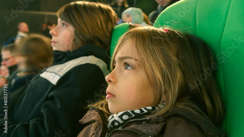 enfants au spectacle