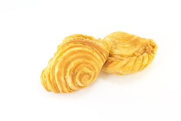 curry puffs isolated