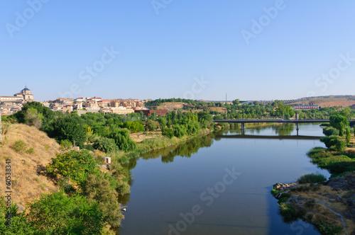 Foto op Canvas Caraïben The historic city of Toledo in Spain