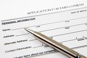 Application form concept for applying