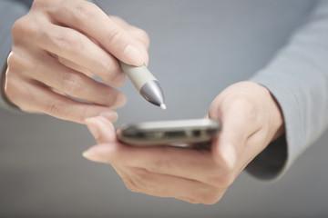 Smartphone and stylus