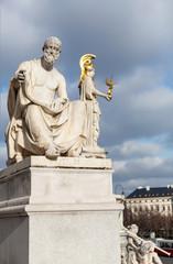 Polybius Statue at Parliament in Vienna - Austria