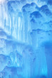 Frozen waterfall texture