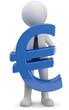 Männchen Euro Symbol
