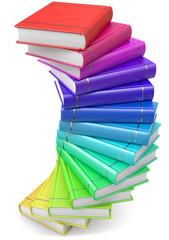 Bücher Stufen
