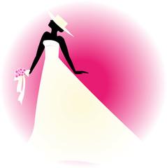 sposa con cappello