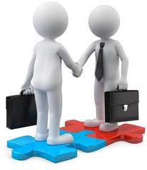 Puzzle Partnerschaft