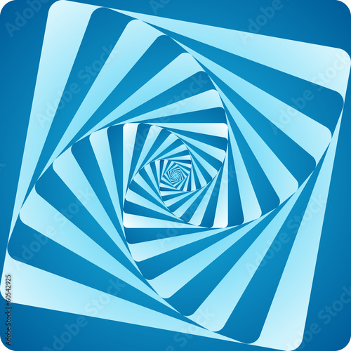 rounded square spiral vortex