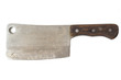 old cleaver knife isolated - 60543725