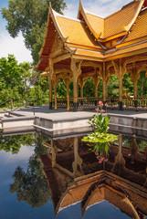 Thai Pavilian Reflection
