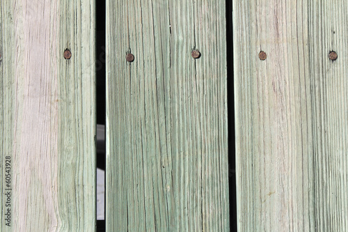Green and Brown Wood Plank Walkway