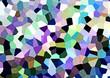 canvas print picture - Mosaik Hintergrund