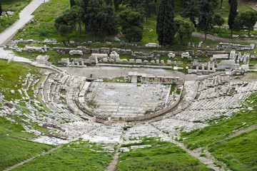 Theatre of Dionysus  in Athens, Greece
