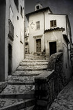 Old alley with steps - 60545156