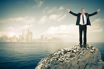 Concept business chalenge