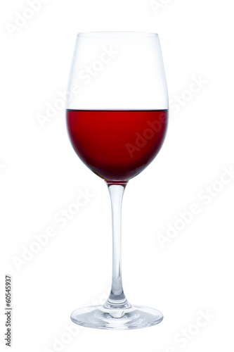canvas print picture Glas Rotwein