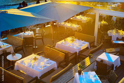 Luxury restaurant in Cannes