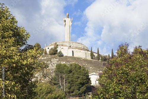 Christ the otero in palencia, Spain