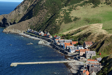 Pennan, Aberdeenshire - Scotland, UK