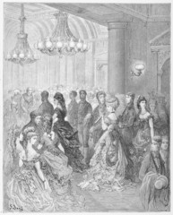 A Ball at the Mansion House - Dore's London: a Pilgrimage