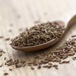 Caraway seeds in Wooden Spoon
