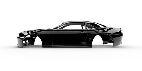 Black body car