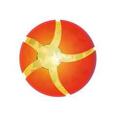 3d ball, sphere logo