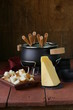 special set of utensils for cooking fondue