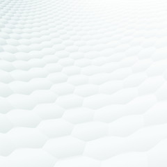 Abstract perspective background, hexagonal texture (CMYK)