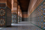 A view of Medersa Ben Youssef, Marrakech