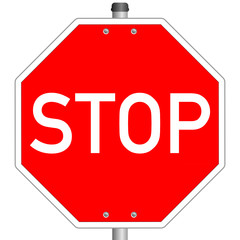 Stop Schild  #140121-svg16
