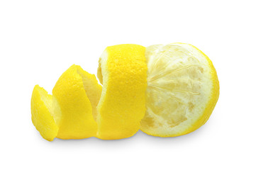 peel of lemon
