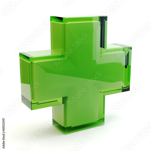 canvas print picture Pharmacy symbol 3D